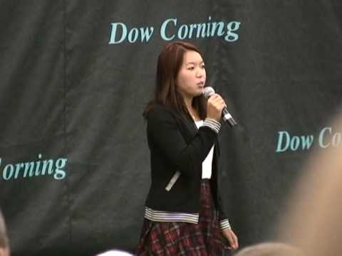 Vania King sings Amercia the Beautiful Video