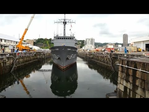 The Art of Dry Docking