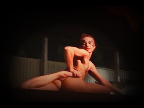Anya Aes (Performer, Dancer, Contortionist, Artist) performing LIVE in Nude Art Show 2014