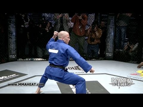 Welterweight Champ Georges St-Pierre: UFC 129 Open Workout