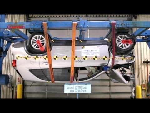 2014 Kia Sorento   Frontal Crash Test Documentation   CrashNet1