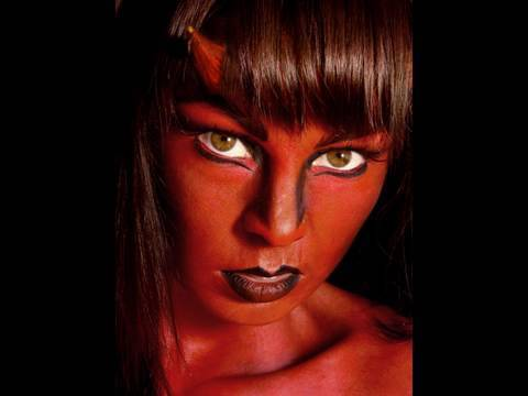Devil Halloween Makeup For Women She Devil Halloween Makeup