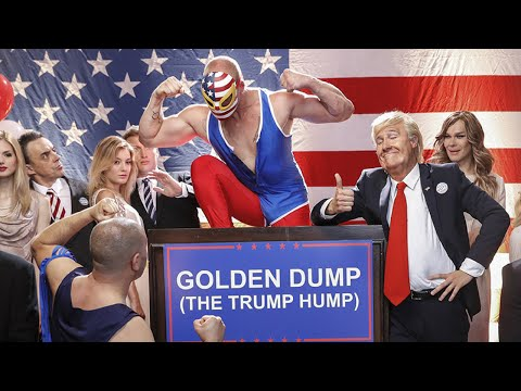 Donald Trump - Golden Dump (The Trump Hump) /#TheMockingbirdMan by Klemen Slakonja/RNC 2016