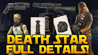 Star Wars Battlefront Death Star FULL DETAILS: Blasters, Star Cards, Hero Abilities, Maps & More!