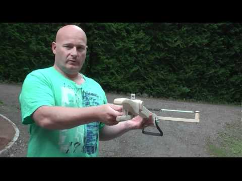 Medieval Style Musket Ball Shooting Slingshot Crossbow