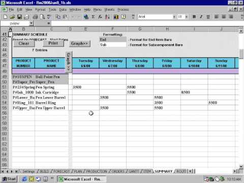 Resource manager for excel overview youtube for Www workforcescheduling com jewelry tv