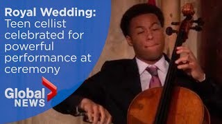 Royal Wedding Teenage Cellist Celebrated For Powerful Performance At Ceremony