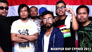 Manipur Rap Cypher 2017 - Official Music Video Release
