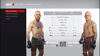 EA SPORTS™ UFC® 3 Conor McGregor wygral walke przez poddanie i zostje dalej mistrze wagi lekkiej