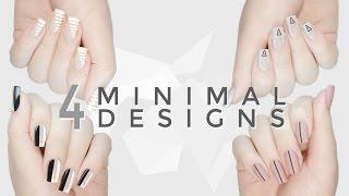 4 Cool, Easy & Minimal DIY Nail Art Designs