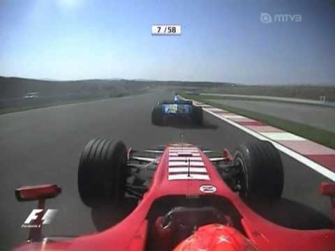 Michael Schumacher & Fernando Alonso - Istanbul 2006