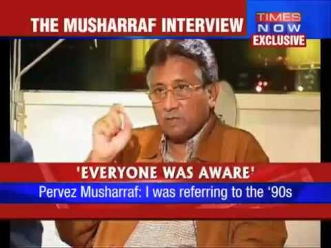 Hot Interview in NDTV TImes NOW with Pervez Musharraf on India Pakistan Kashmir