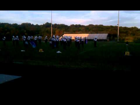 2012 Urbana High School Mighty Hawks Marching Band 2