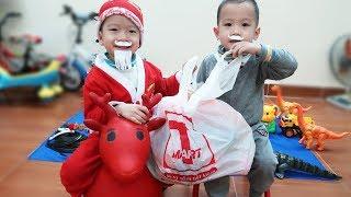 Đồ Chơi Baby Fun Trò Chơi Ông Già Noel Mùa Quà Giáng Sinh Gia Đình Baby Shark