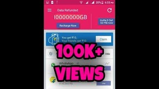 How to hack data back app and get 10000000GB  in your account[NO ROOT]