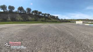 Abramo Antonicelli camera car Trackd Day al Circuito Internazionale d'Abruzzo