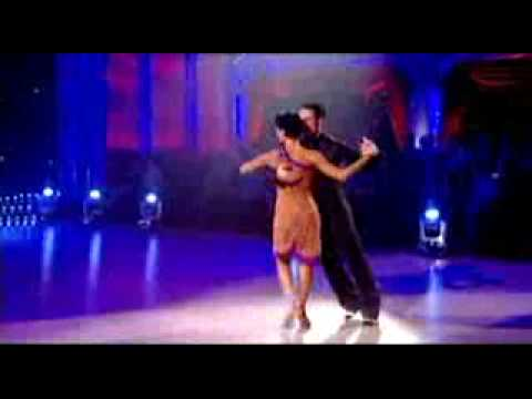 Two-times World Argentine Tango Show Champions Vincent Simone and Falvia Cacarce on BBC Strictly Come Dancing, 09-12-2007, http://en.wikipedia.org/wiki/Vince...