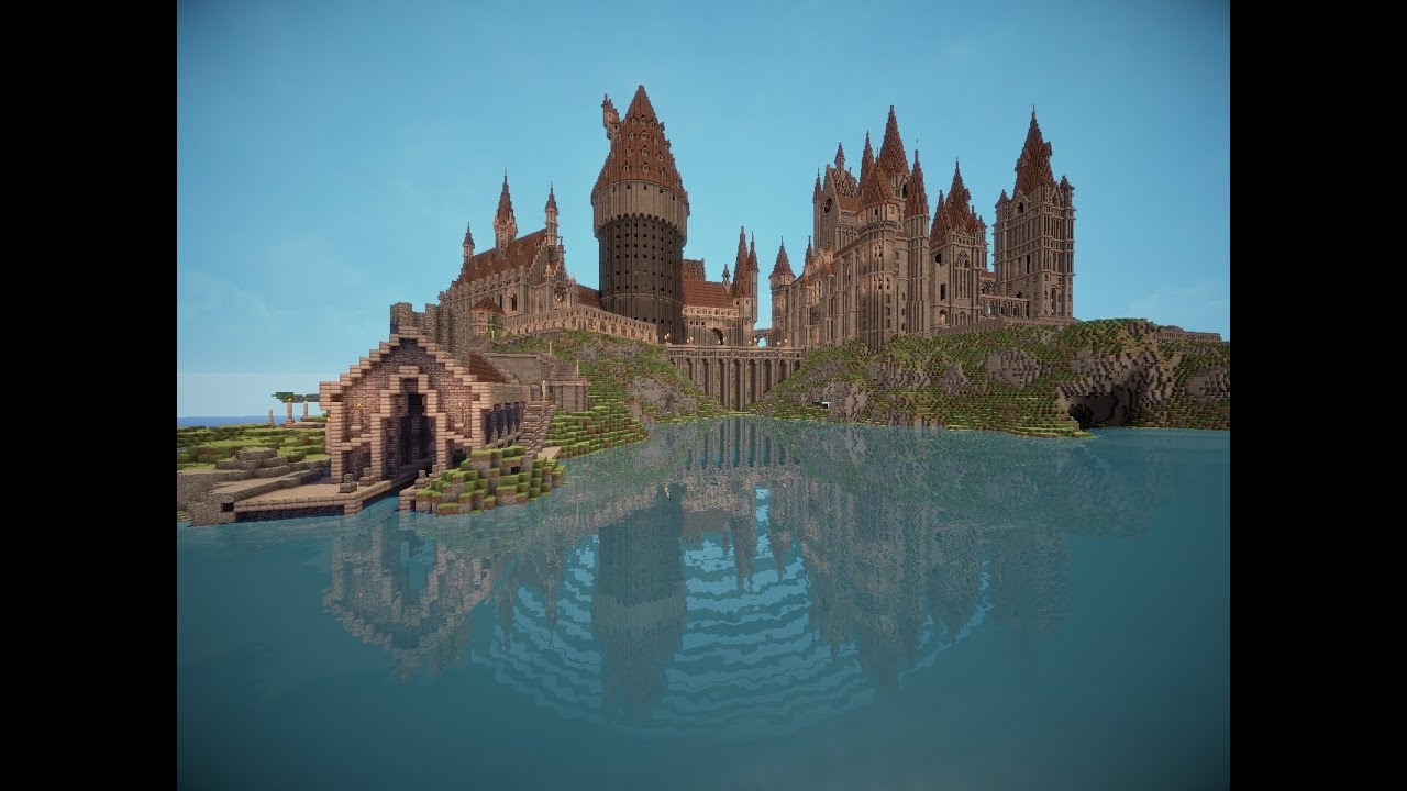 The Best Hogwarts Ever Made In Minecraft Mrkaspersson
