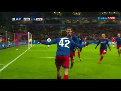 CSKA Moskova 2-0 Benfica | UEFA Şampiyonlar Ligi Maç Özeti