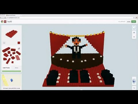 LEGO® Opera Singer created in Build with Chrome