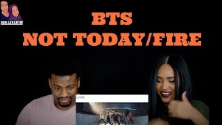 Download Lagu BTS NOT TODAY/FIRE REACTION Gratis STAFABAND