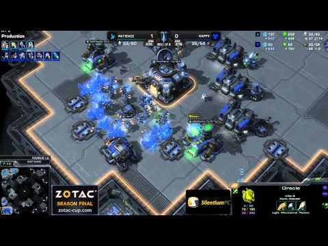 PvT Patienc vs Happy g2 - Nimbus- Starcraft 2 HD Polski komentarz