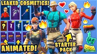*NEW* ALL LEAKED Fortnite Skins & Emotes..! *ANIMATED WRAP* (Kuno, Slap Happy, Laguna, Magma)