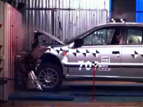 Samand Crash Test