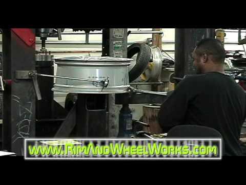 Customwheels on Professional Wheel Straightening By Rim Wheel Works Inc
