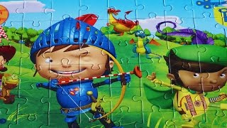 MIKE THE KNIGHT Puzzle Games Jigsaw Puzzles Clementoni Rompecabezas Puzzle For Kids nick jr