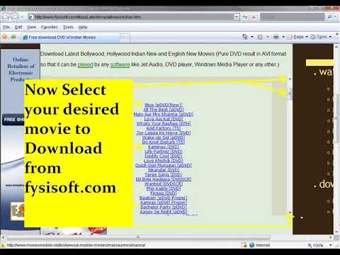 Download Indian and English Movies in FREE DVD Quality Bollywood and Hollywood Movies