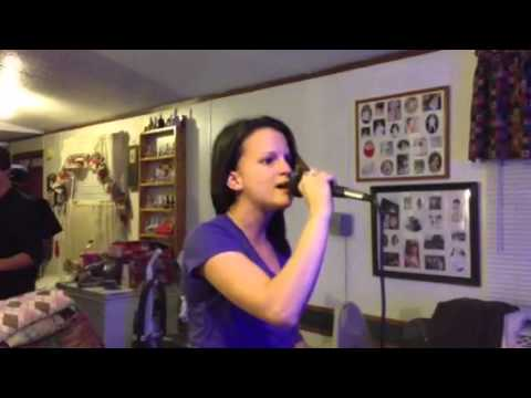 Jessica Singing When You Were Mine 11-06-12