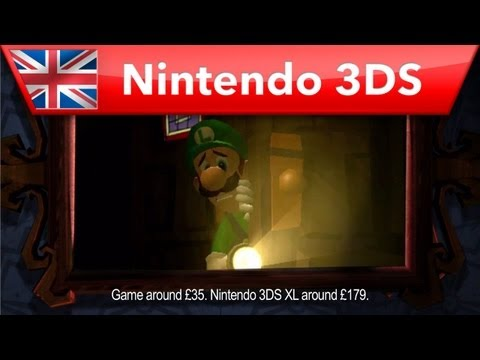 Luigi's Mansion 2 - UK TV Advert (Nintendo 3DS)