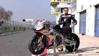RSV4 Superbike 2015 - Onboard with Max Biaggi