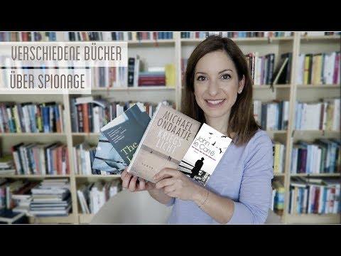 4 unterschiedliche Bücher : Spionage