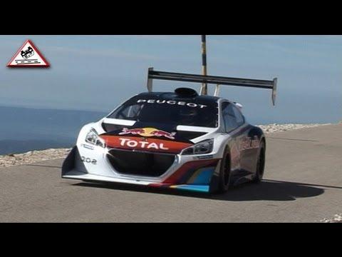 Test Sébastien Loeb Peugeot 208 T16 Pre Pikes Peak 2013 [Passats de canto]