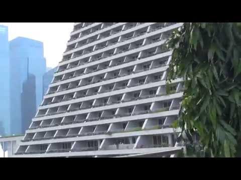 Famous Singapore hotel!Marina Bay Sands!