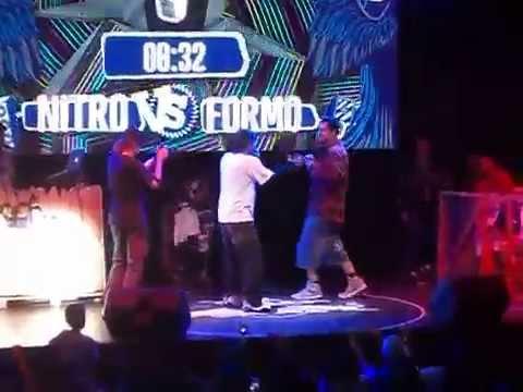 Nitro vs Formo - Octavos - Red Bull Batalla De Los Gallos Chile 2014
