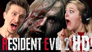 Scared Buddies Play Resident Evil 2 Until They Beat It