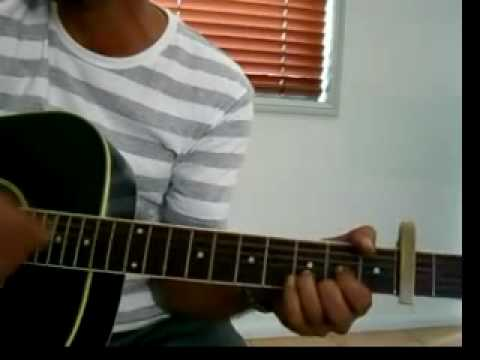 Chalte chalte (Pakeezah) on guitar with chords