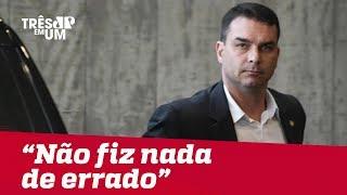 Flávio Bolsonaro vai às redes sociais se defender sobre relatório do Coaf