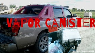 Vapor Canister / 05 Cadillac Escalade EXT
