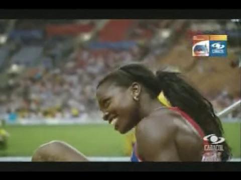 Caterine Ibargüen Oro Triple Salto - Mundial de atletismo 2013