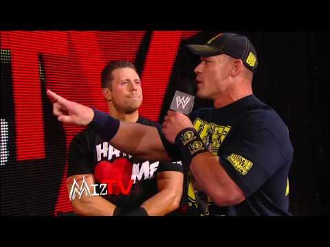 John Cena & The Miz Vs. Team Rhodes Scholars: Raw, Dec. 31, 2012 video