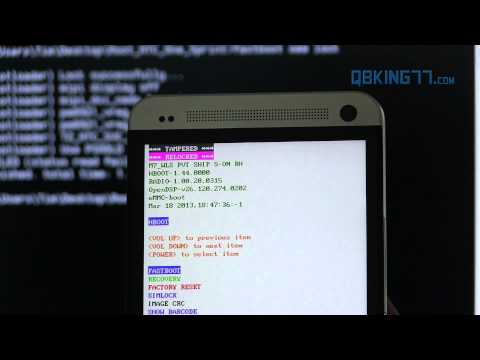 How to Unroot/Unbrick the HTC One to Stock