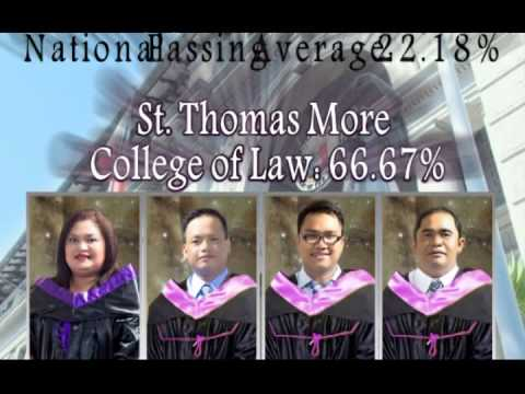 St Thomas More School of Law_new lawyers 2014 AVP