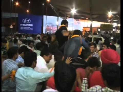 Indian wrestling team arrives in New Delhi after bagging medals at Asian Games