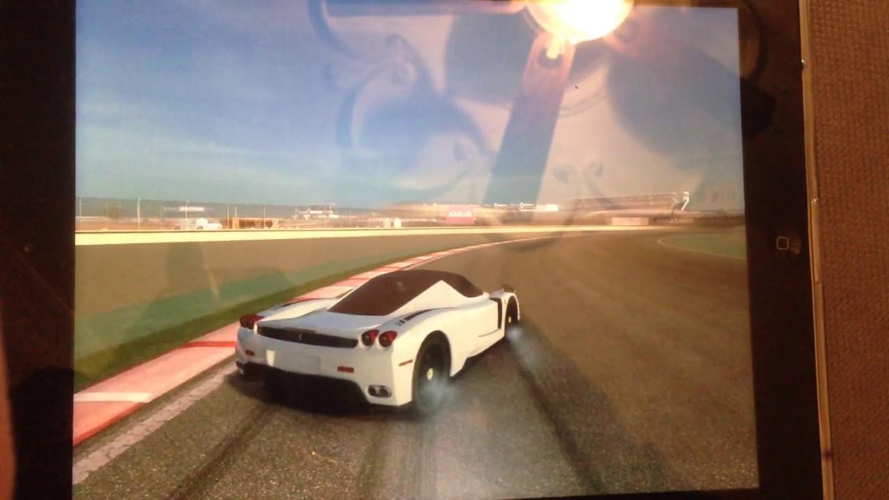 Enzo Ferrari Dubai Drift
