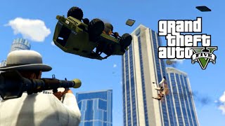 GTA 5 Online PC | RPGs vs INSURGENTS 4