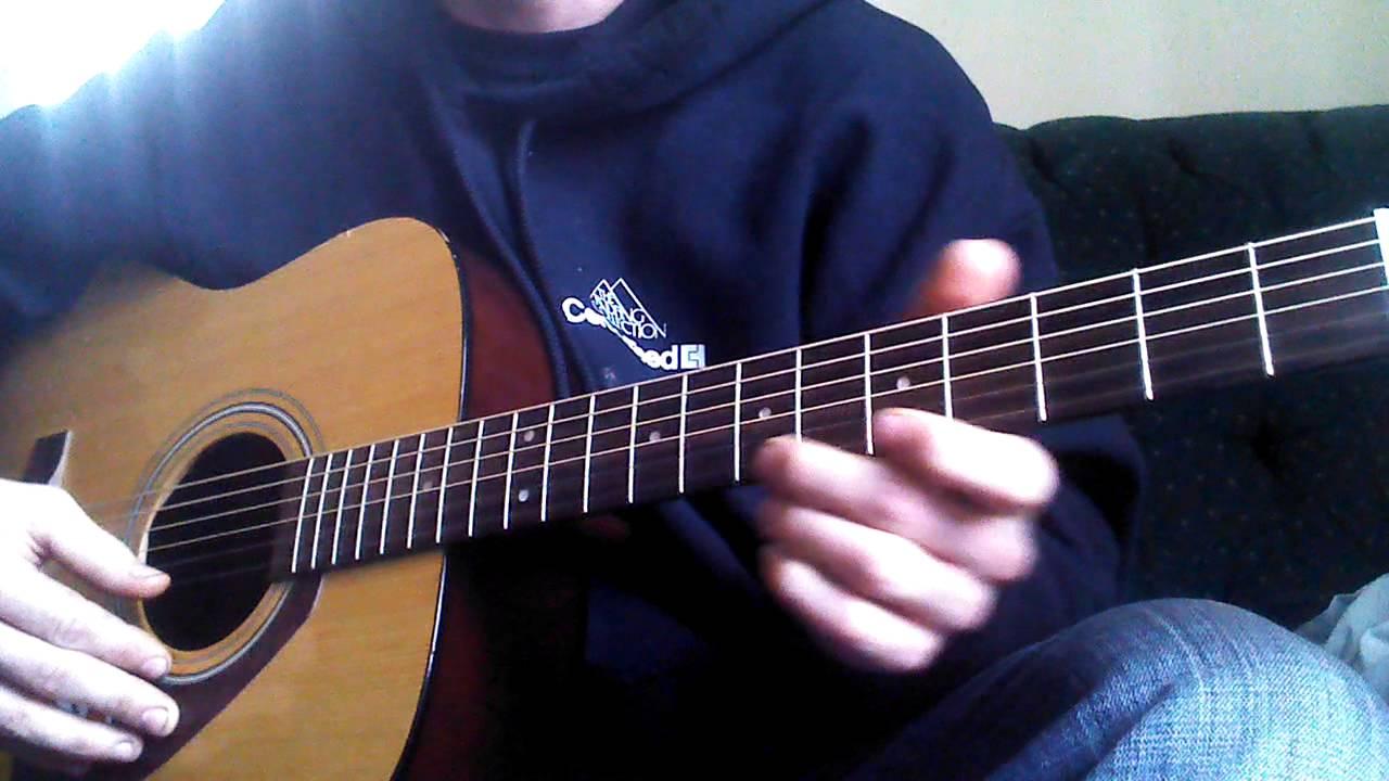 Strawberry wine guitar